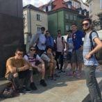 Pożegnanie z kolejną grupą uczniów z Włoch