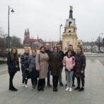 Uczniowie z Łotwy na stażach w Białymstoku