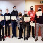 Pomyślne zakończenie staży przez uczniów z Litwy