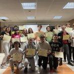 Podsumowanie staży drugiej grupy uczniów z Włoch