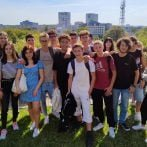 Pizza and dumplings – cultural activities during the students' stay with the Italian
