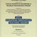 European Innovative Teaching Award